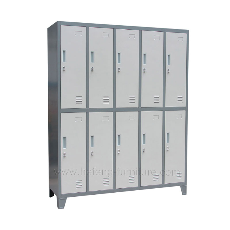 10 Door Athletic Lockers