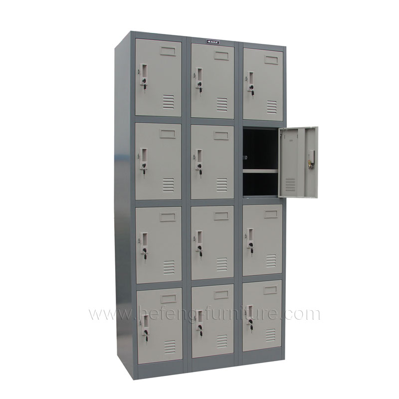 12 door gym lockers luoyang hefeng furniture