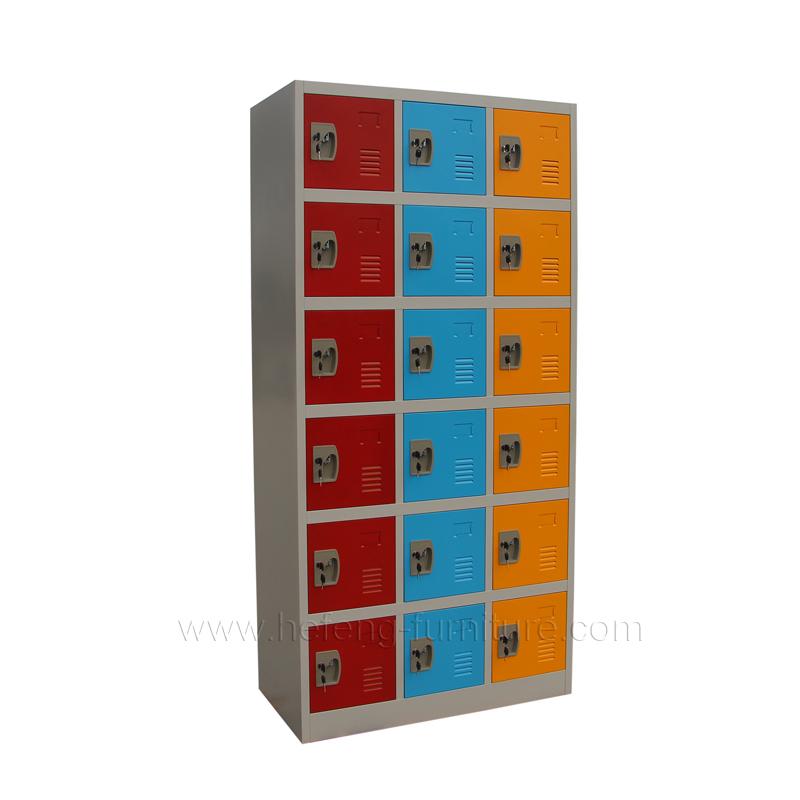 18 Door Student Lockers Luoyang Hefeng Furniture