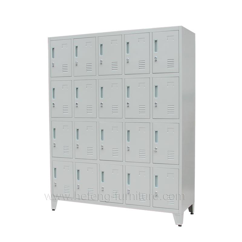 20 door employee lockers