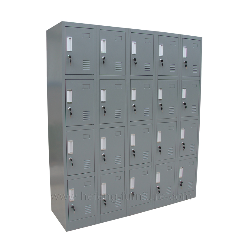 ... 20 door school storage lockers ...  sc 1 st  Luoyang Hefeng Furniture & 20 Door Employee Lockers - Luoyang Hefeng Furniture