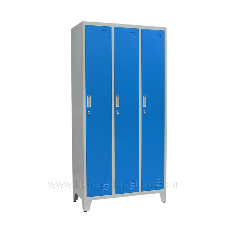 3 Door Steel Clothing Lockers