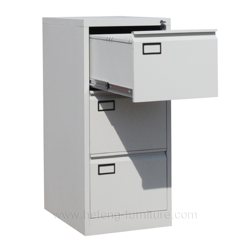 Three Drawer Metal Cupboard · 3 Drawer File Cabinet · Three Drawer Filing  Cabinet