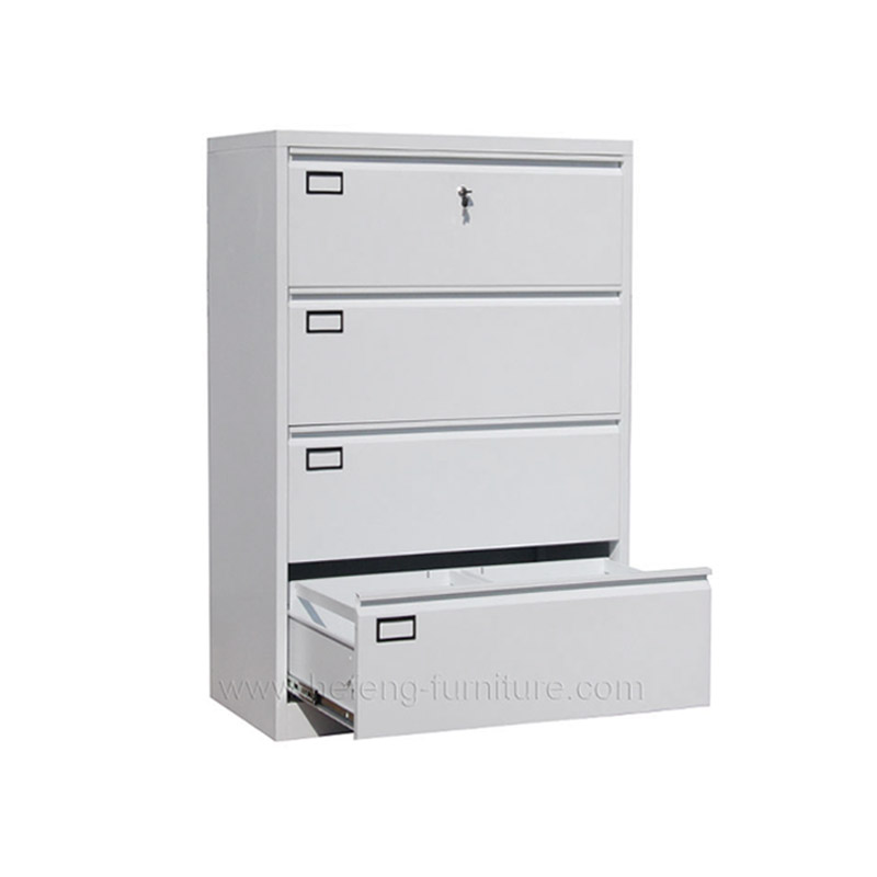 4 Drawer Metal Office Cabinet