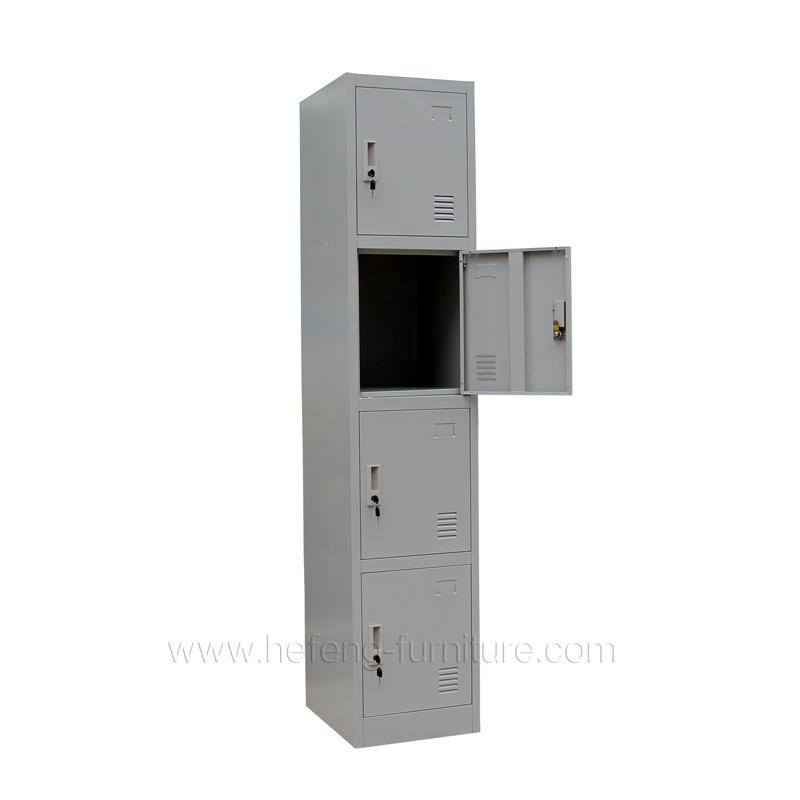 4 tier employee lockers