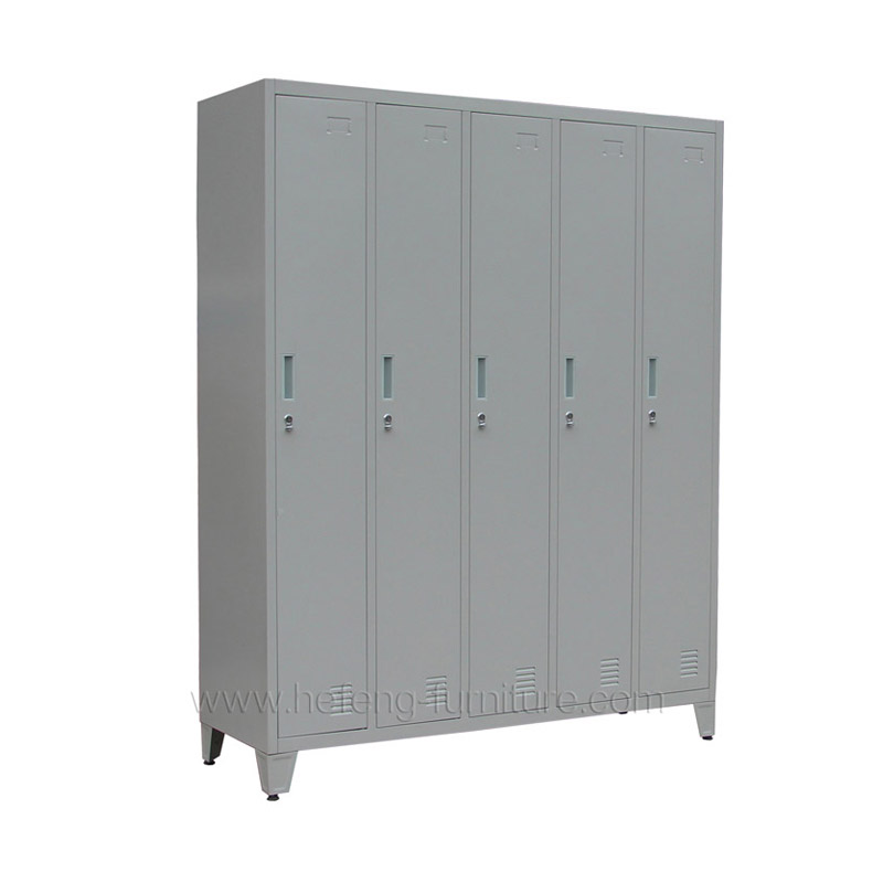 5 Door Metal Staff Lockers