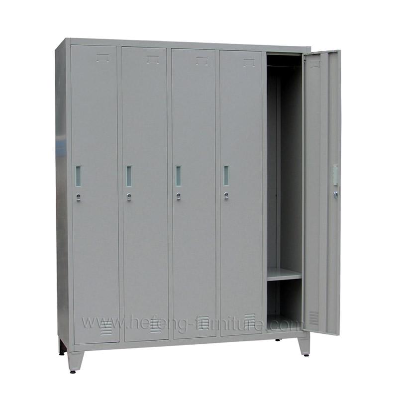 5 Door Metal Staff Lockers Luoyang Hefeng Furniture