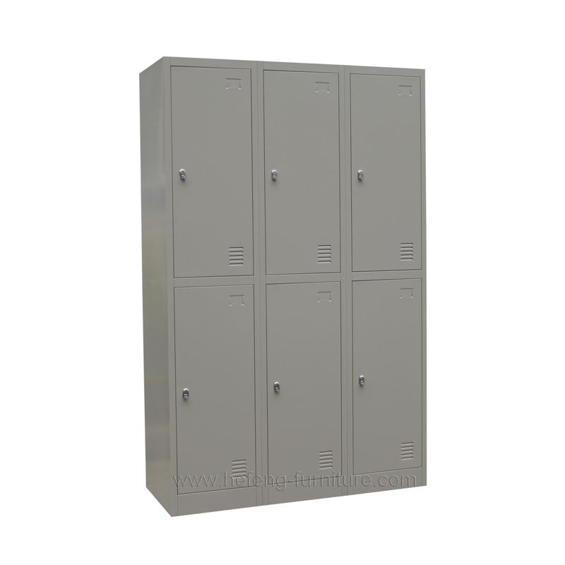 Six Door Storage Lockers Luoyang Hefeng Furniture