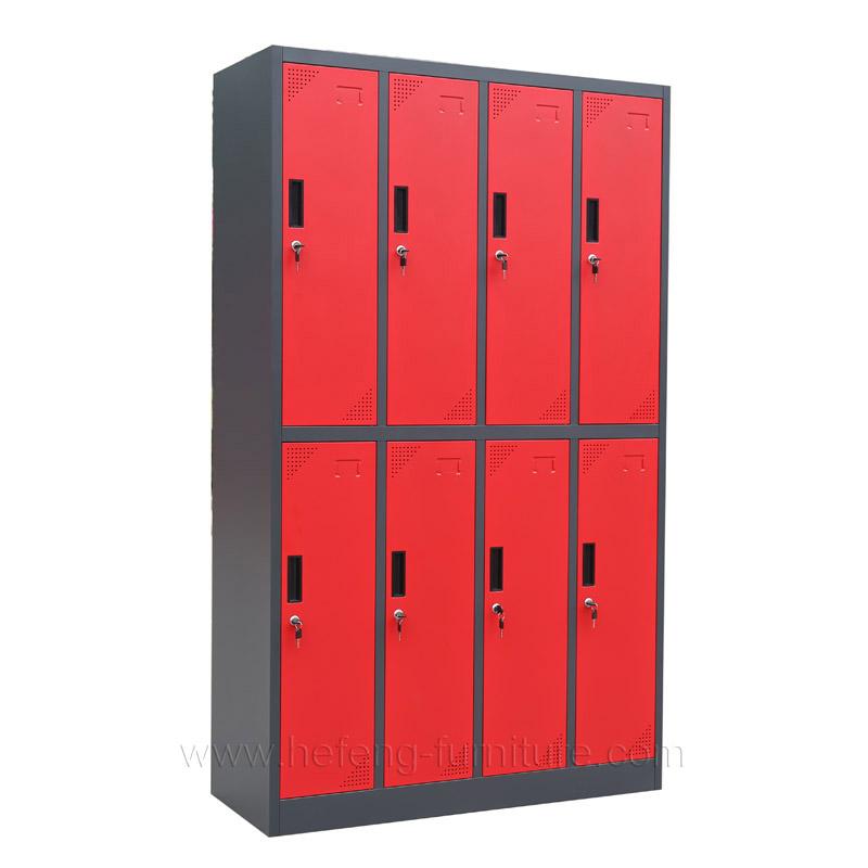 8 Door Change Room Lockers Luoyang Hefeng Furniture