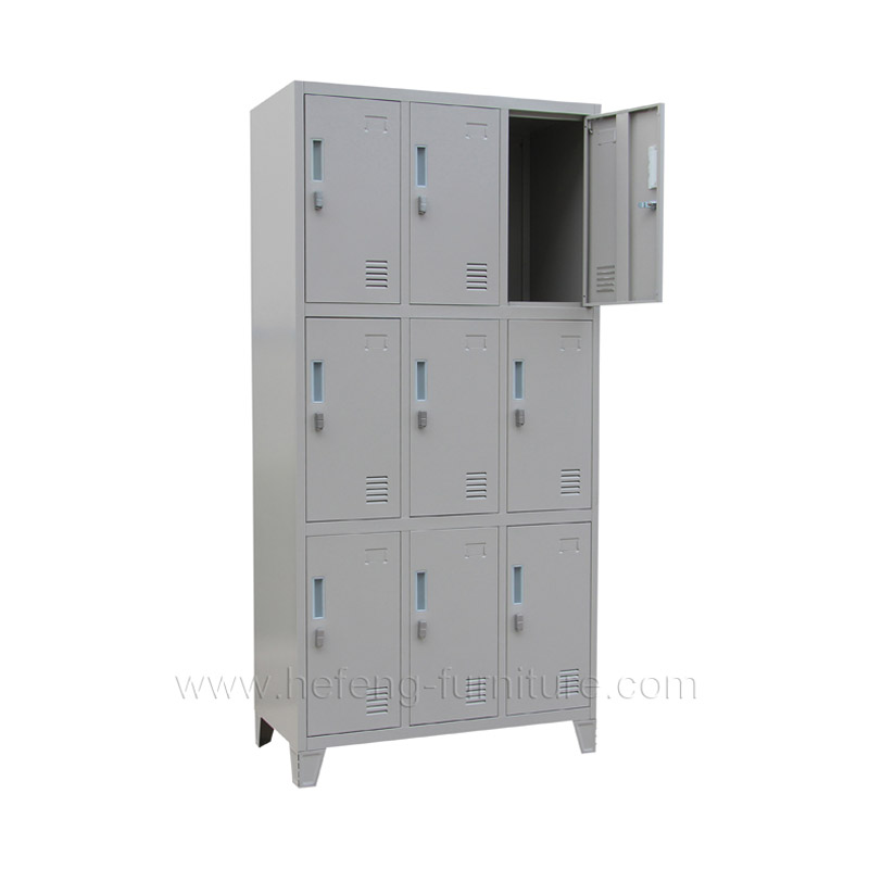 9 Door Uniform Lockers