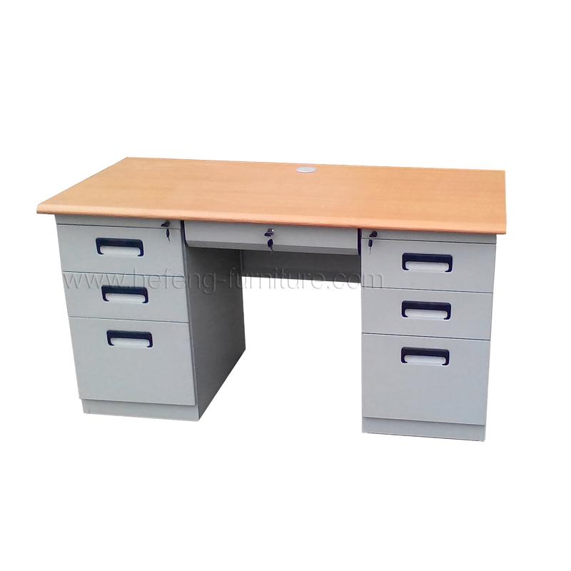 Metal office desk luoyang hefeng furniture - Metal office desk ...