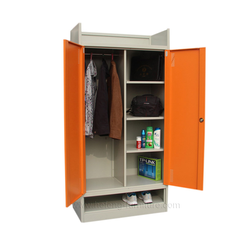 Metal storage cupboard
