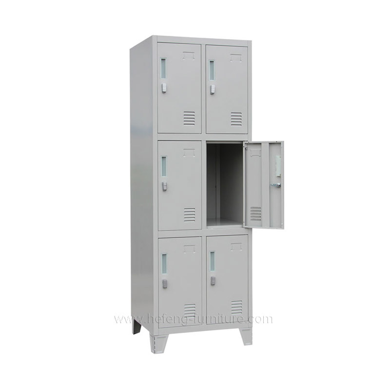 6 Door Personnel lockers