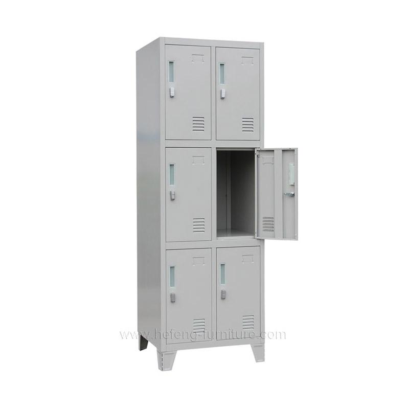 6 Door Personnel lockers