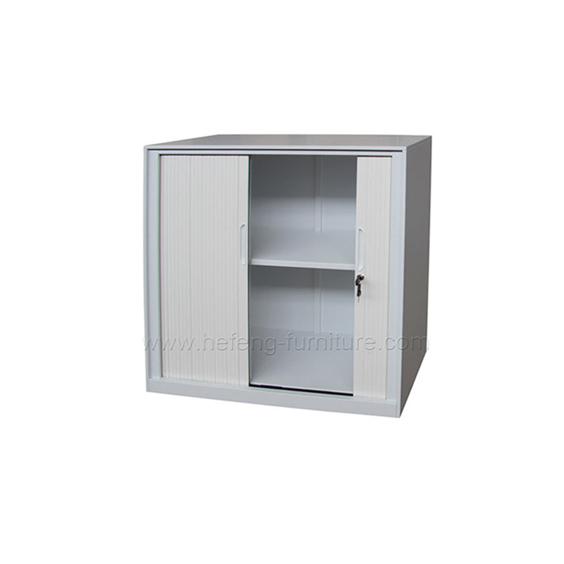 Small Roller Shutter Cabinets Luoyang Hefeng Furniture - Small grey cupboard