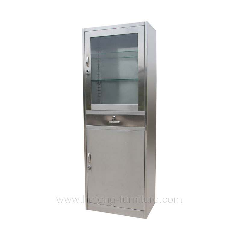 Stainless medicine cabinet