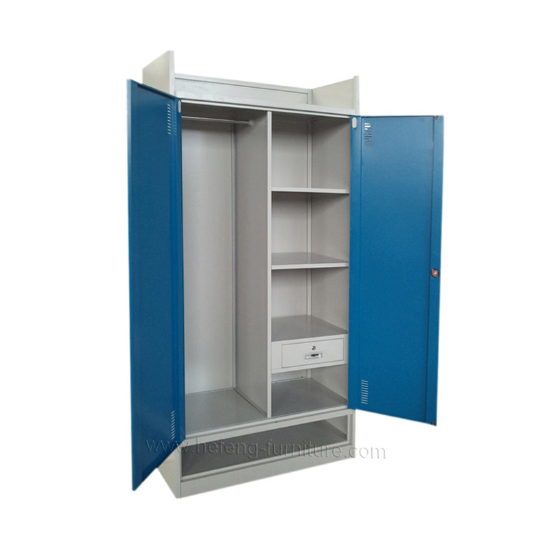 Steel storage cupboard