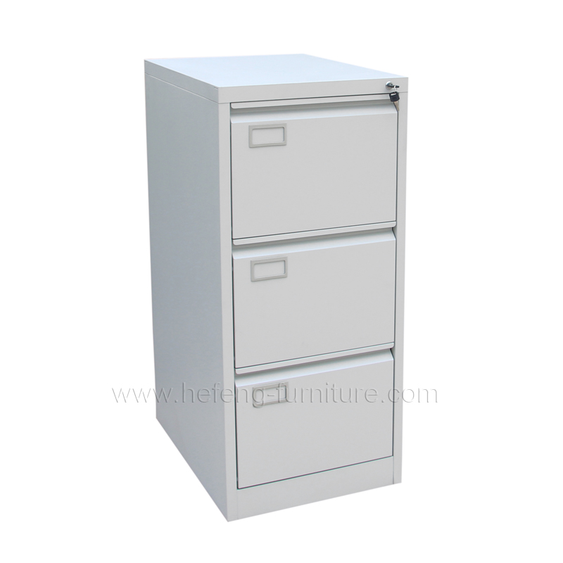 three drawer filing cabinet 3 drawer vertical file cabinet luoyang hefeng furniture 27182