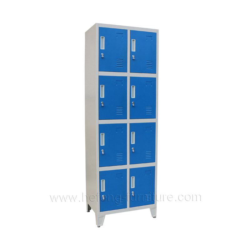 eight door workwear lockers