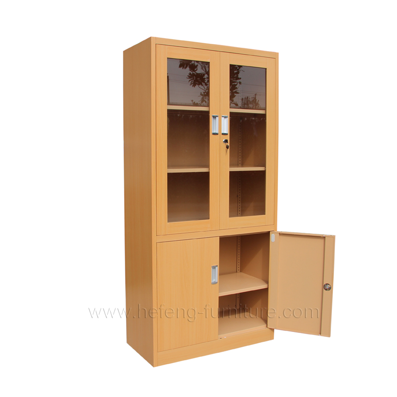 Glass Door Office Cabinet Luoyang Hefeng Furniture