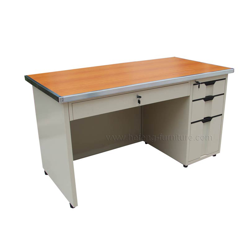 Steel Office Desk With Drawers