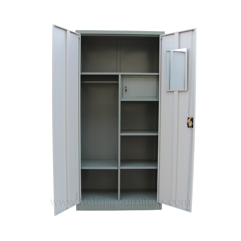 Steel Clothes Wardrobe Drawer Luoyang Hefeng Furniture