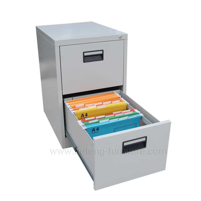 2 drawer metal file cabinet metal 2 drawer file cabinet luoyang hefeng furniture 10100
