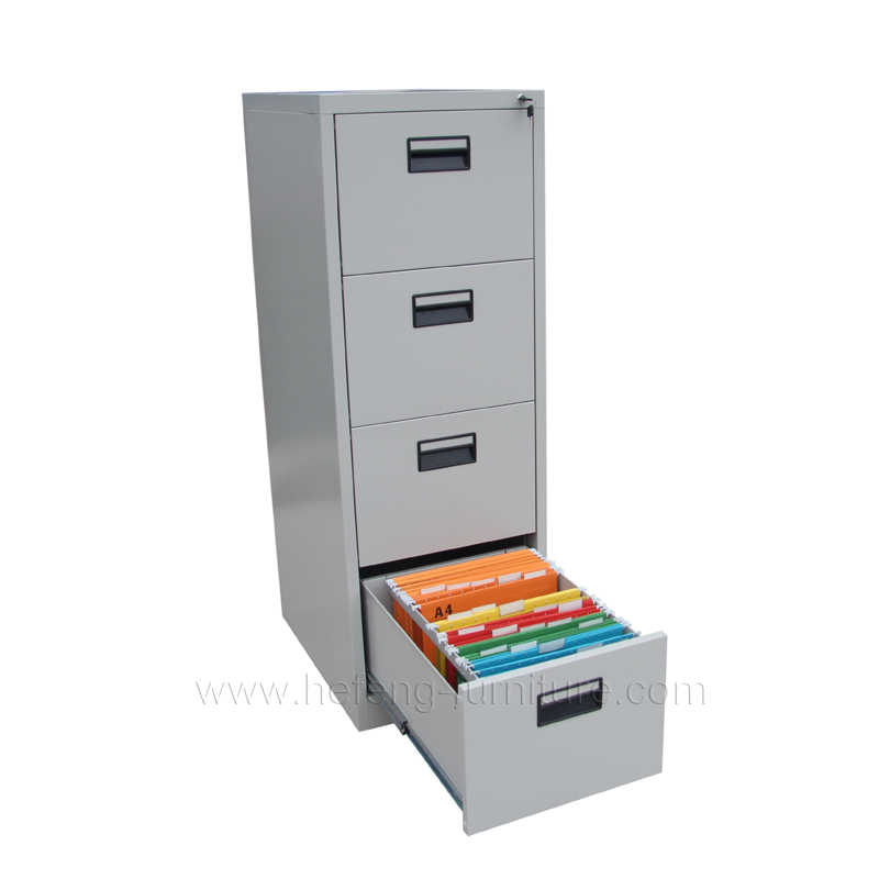 Attrayant ... 4 Drawer Steel Filing Cabinets ...