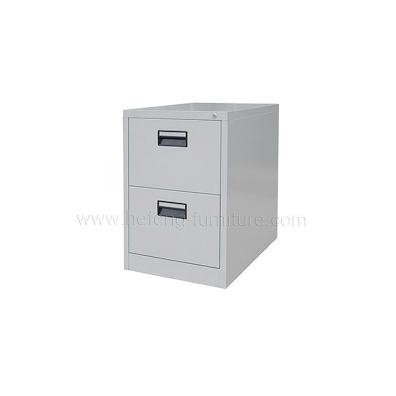 Beau Metal 2 Drawer File Cabinet