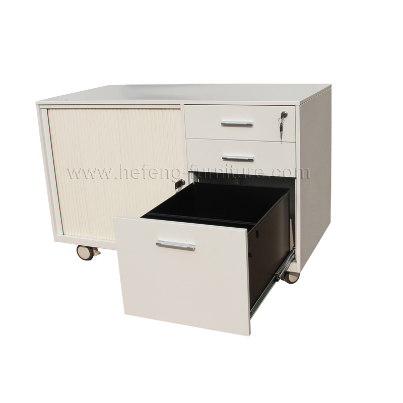 Mobile roller shutter cabinet luoyang hefeng furniture for Mobile furniture