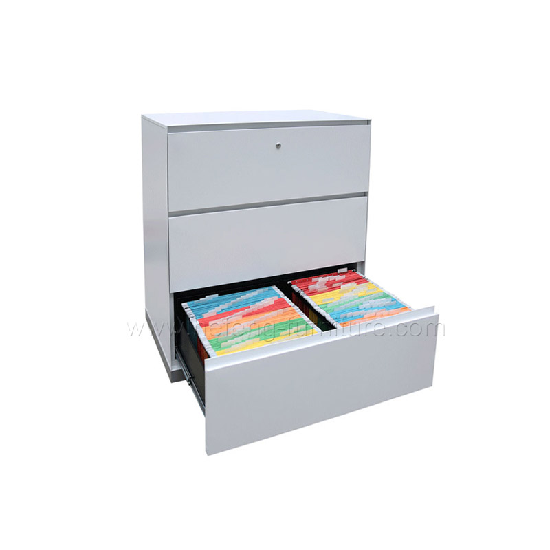 3 Drawer Horizontal File Cabinet