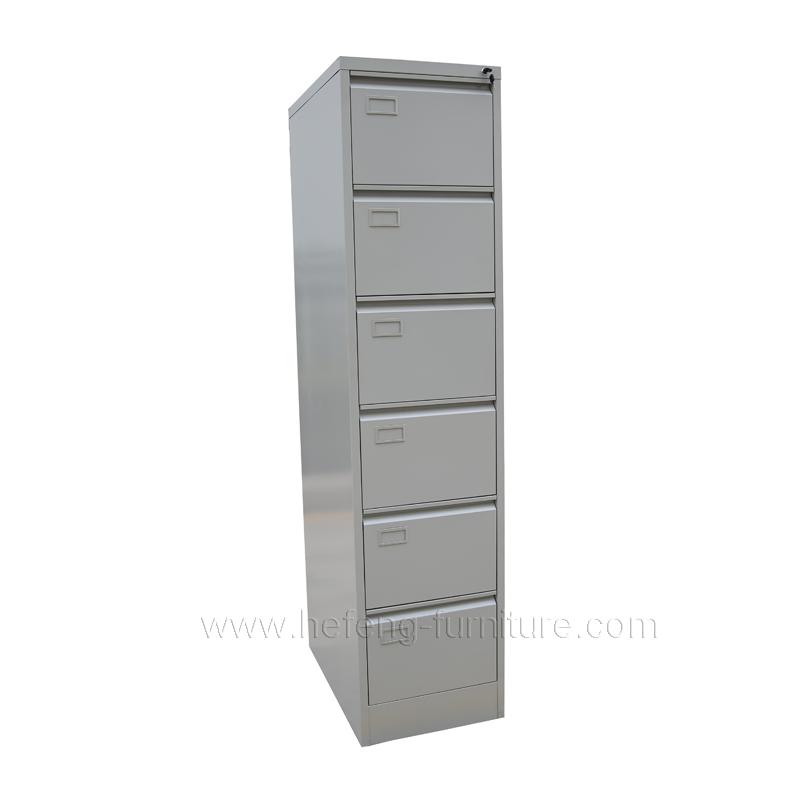 6 Drawer Vertical File Cabinet Luoyang Hefeng Furniture