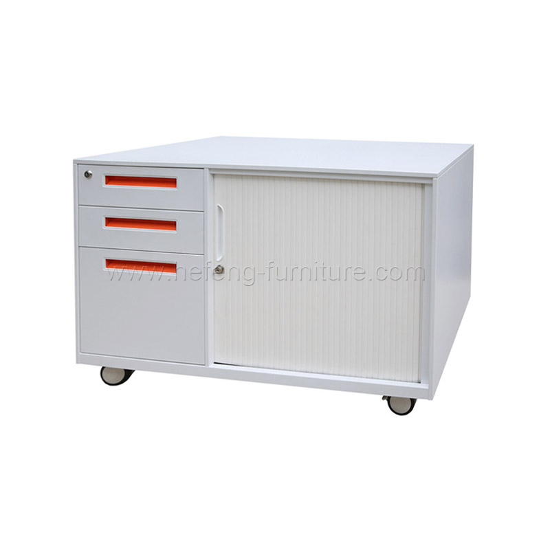 Mobile Tambour Door Cupboard