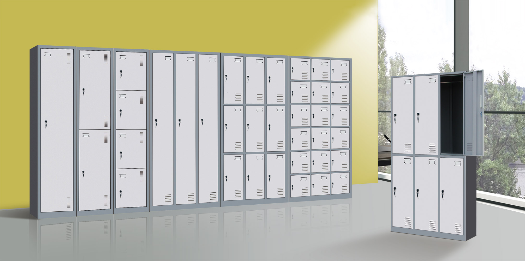 Steel Lockers - Luoyang Hefeng Furniture