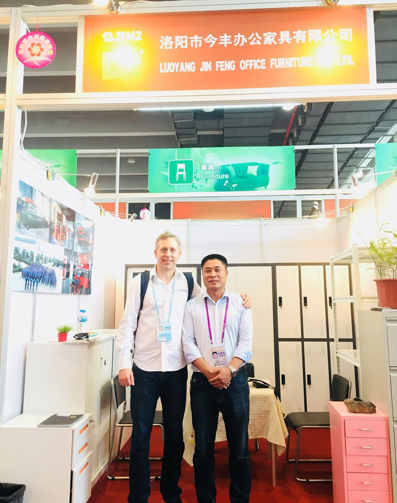 122nd Canton Fair Hefeng Furniture (1)