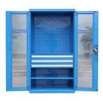 Carage Tool Cabinet with Glass Door