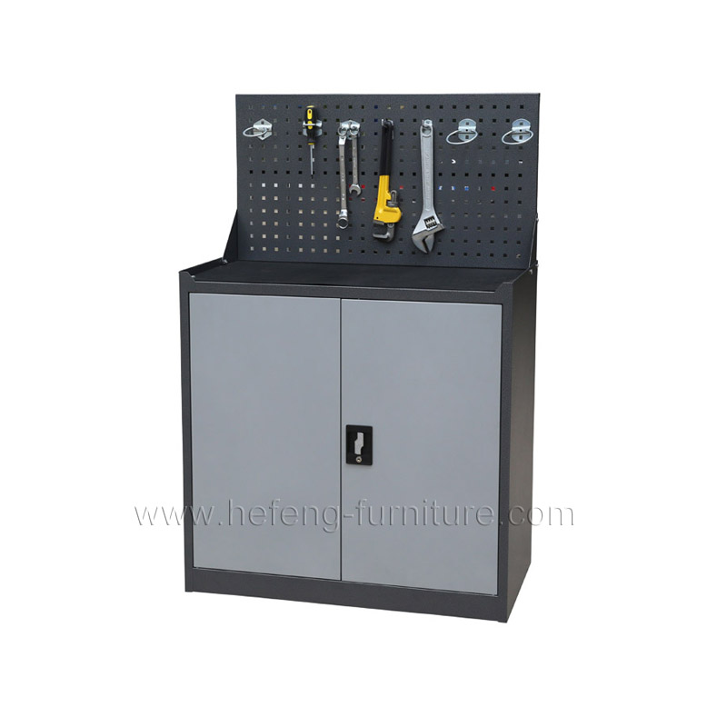 Lower Tool Cabinet with Foldable Panel